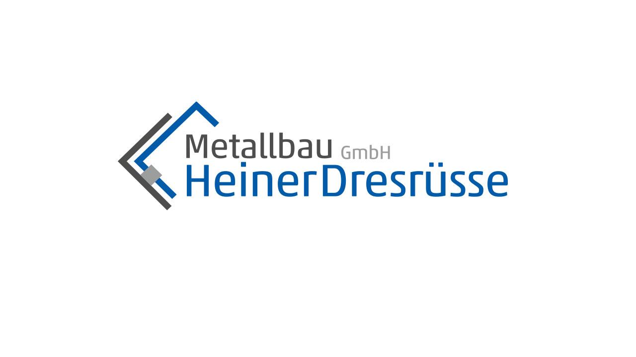 Logoentwicklung: Heiner Dresrüsse Metallbau