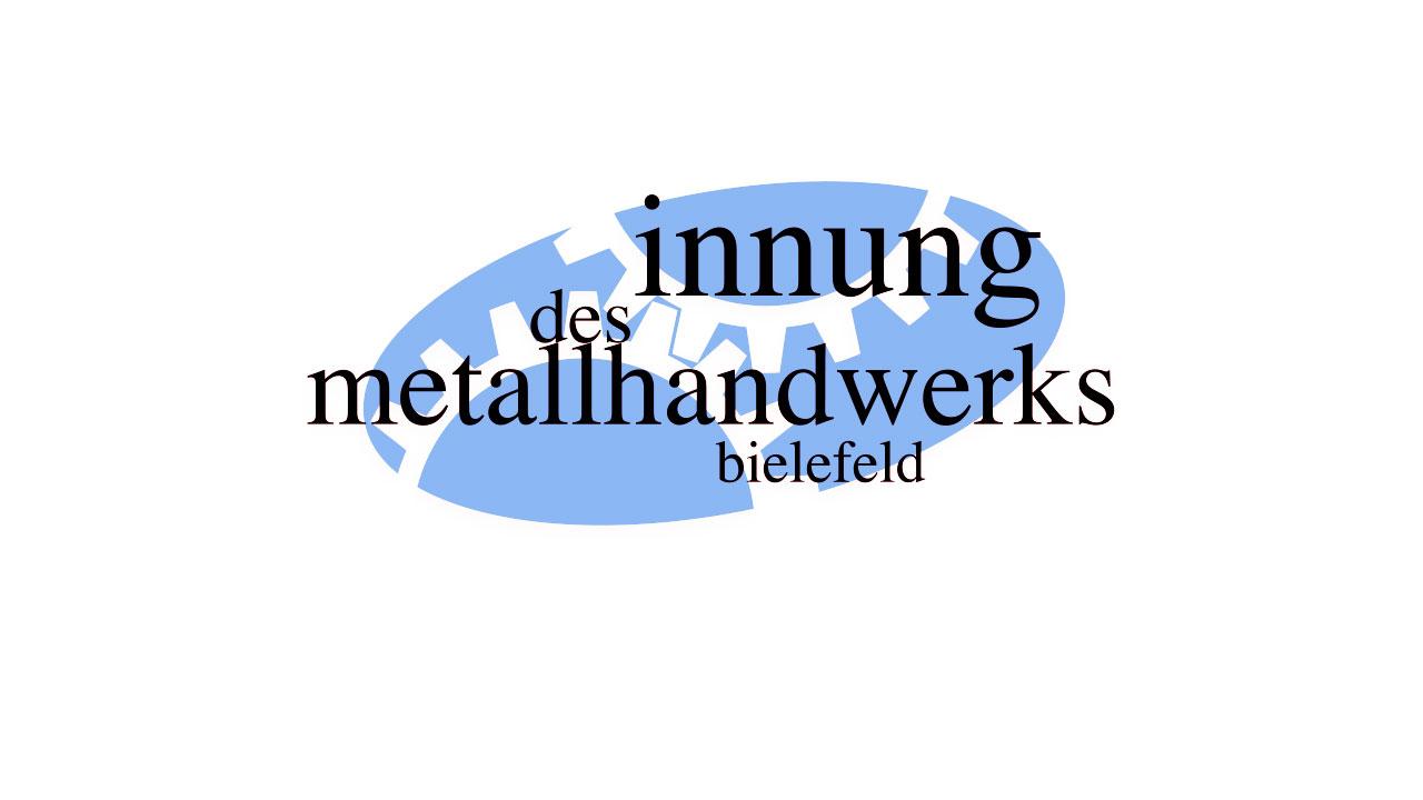 Logoentwicklung: innung des metallhandwerks bielefeld