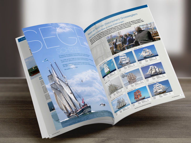 Reisebroschüre Prospekt