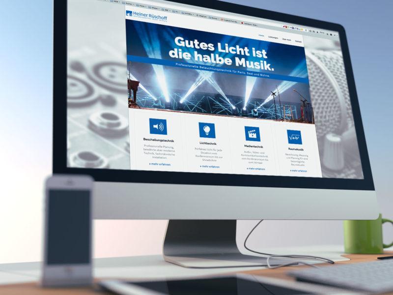 Heiner Rüschoff Medientechnik