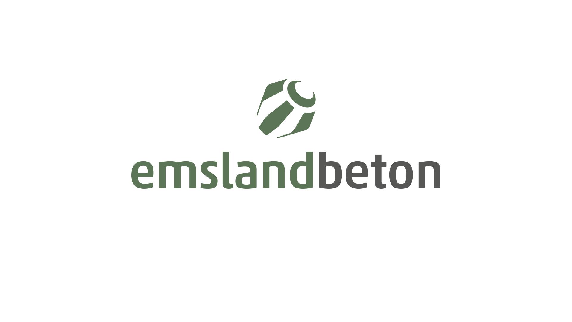 Logoentwicklung emslandbeton