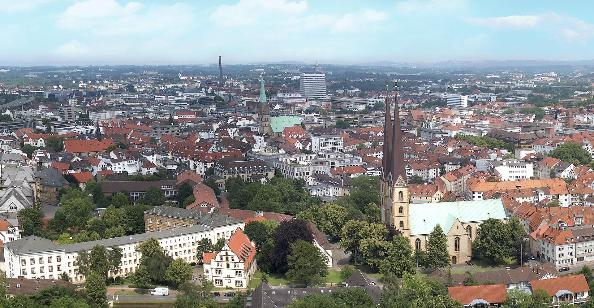 Bielefeld Panoramafotografie von 2006