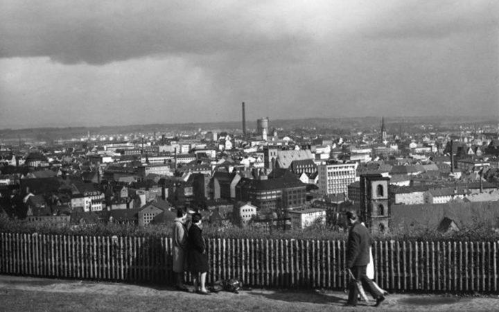 Blick auf Bielefeld im März 1961 · Foto: Simon Müller
