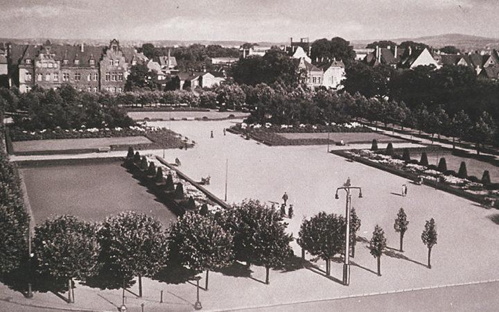 Kesselbrink 1930er Jahre: Mondäne Parkarchitektur