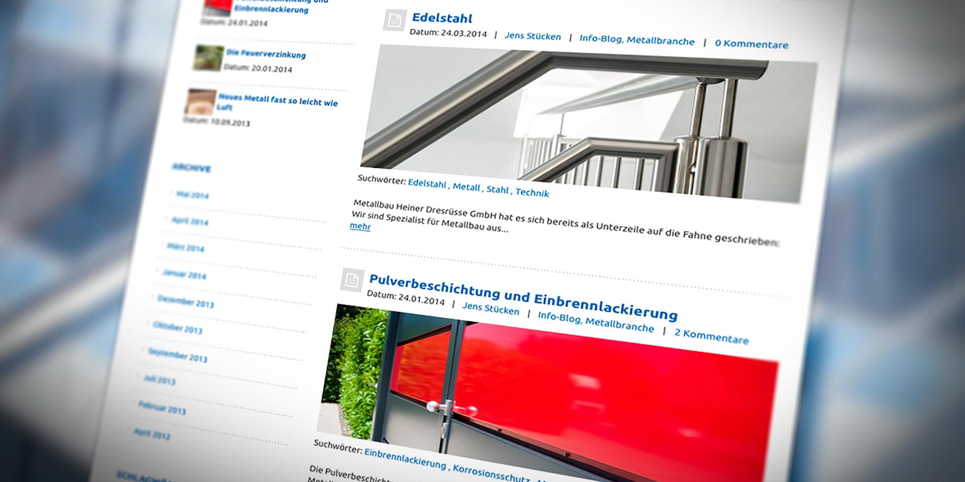 infoblog heiner dresrüsse
