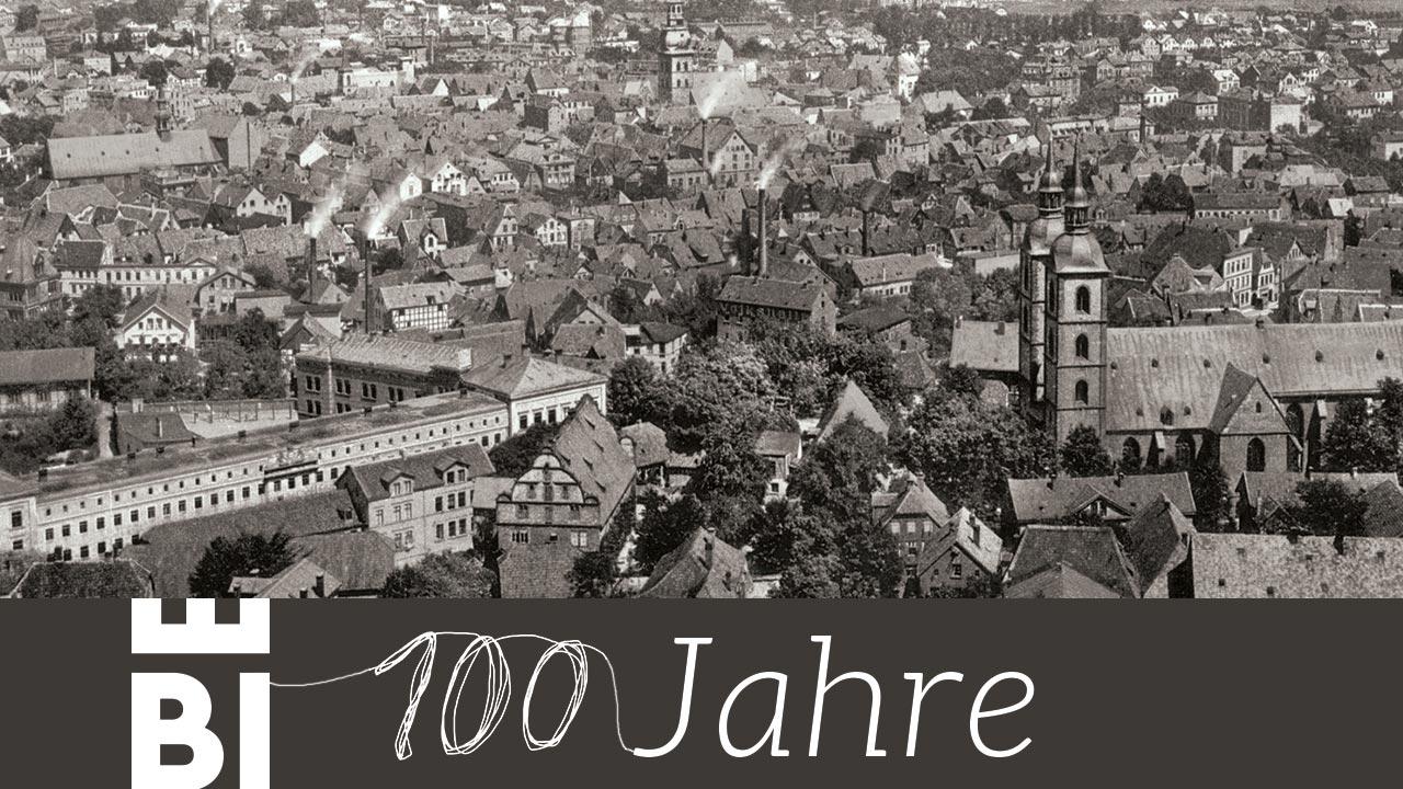 Titelbild: 100 Jahre Bielefeld Gegenüberstellung