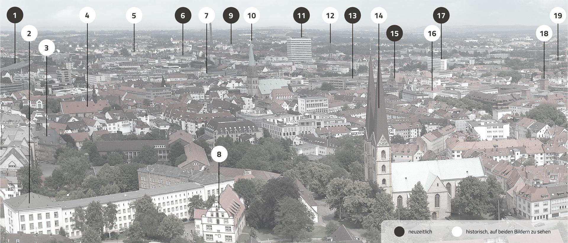 Bielefeld Gebäude derStadt