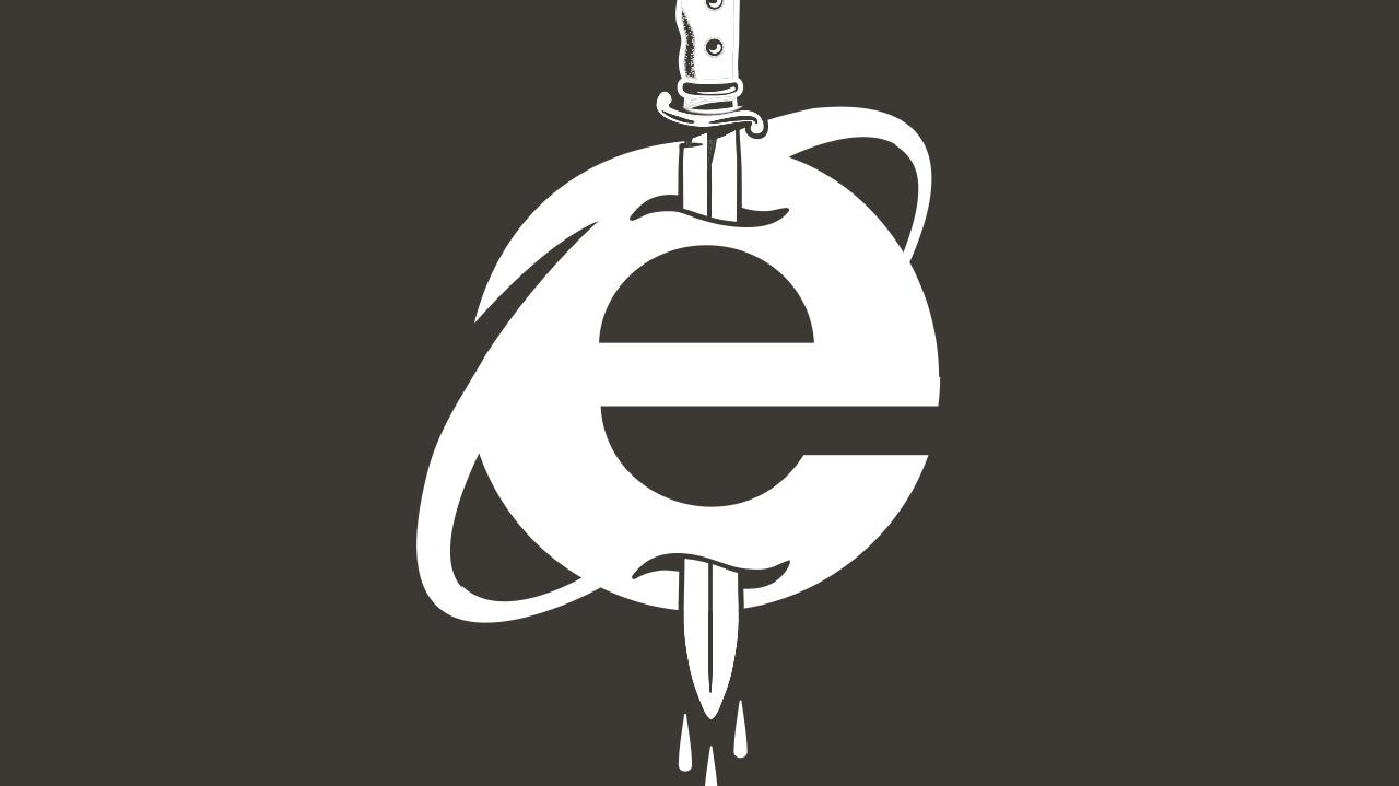kill the MS Internet Explorer
